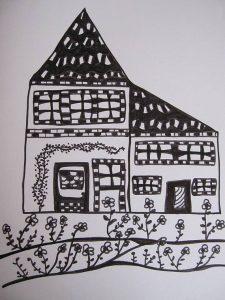 maison-dessin