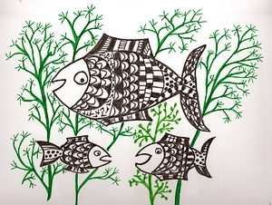 poisson en avril