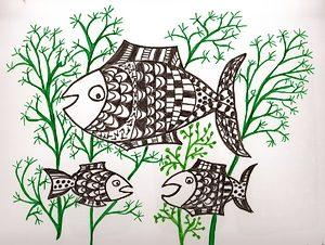 poisson en avril