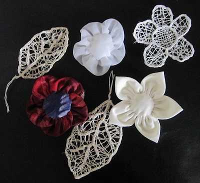 fleurs-en-tissu